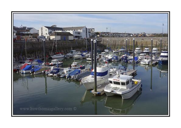 Porthcawl Marina - Greeting Card