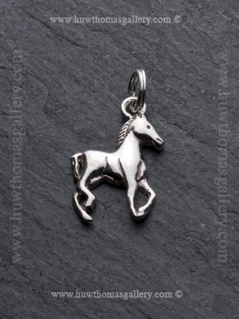 Silver Horse Pendant / Necklace
