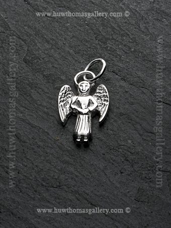 Silver Angel Pendant / Necklace