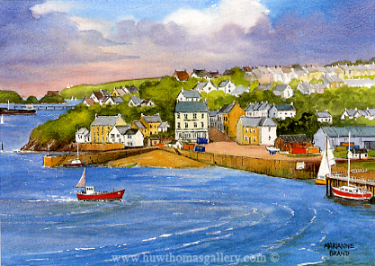 Hakin Piont Milford Haven by Marianne Brand