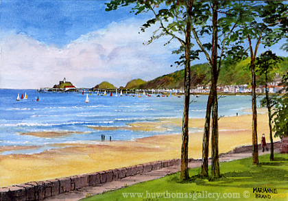 Mumbles Swansea by Marianne Brand