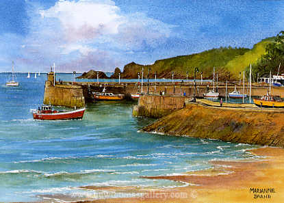 Saundersfoot Harbour by Marianne Brand