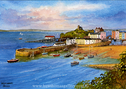Tenby Harbour by Marianne Brand