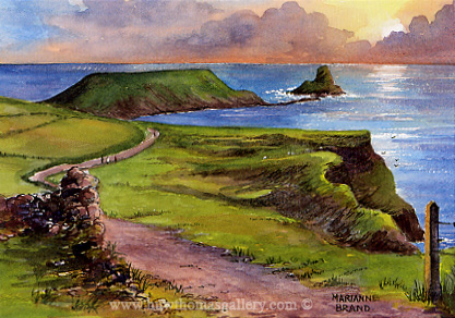 Worm's Head Gower by Marianne Brand