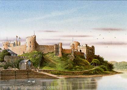 Pembroke Castle by Adrian James