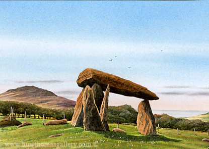 Pentre Ifan by Adrian James