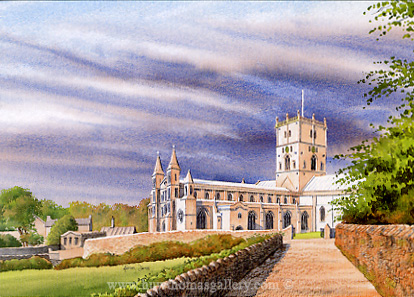 St Davids Cathedral by Adrian James
