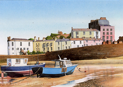 Tenby Habour by Adrian James