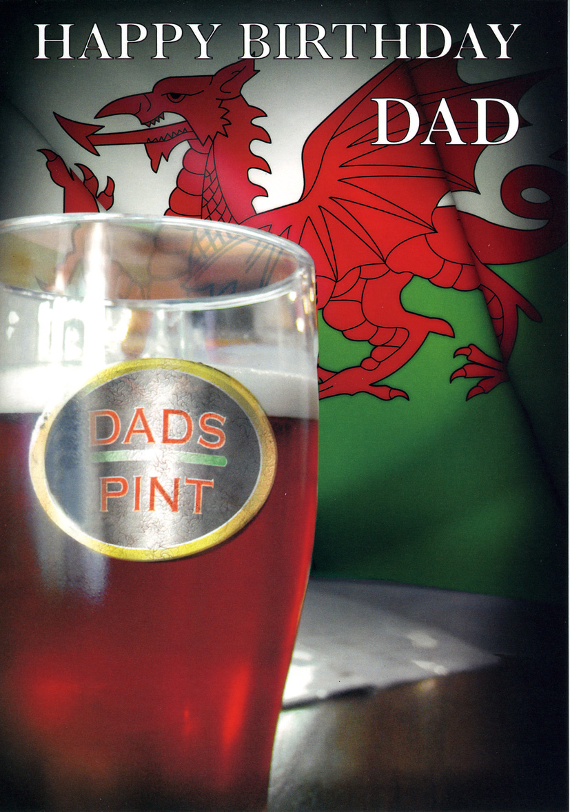 Happy Birthday - Dad - Pint