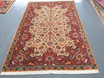 100002 Old Tabriz 224 x 149cms Reduced by 50%