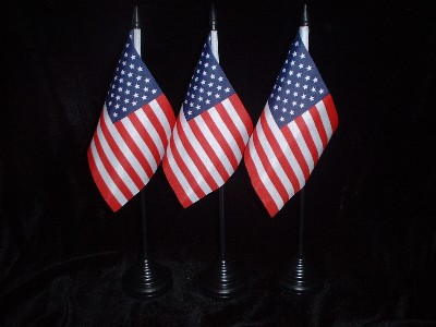 Table  Flag..........................America / Stars & Stripes