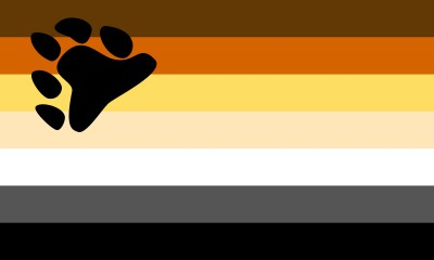 Bear Pride Flag   5ft X 3ft