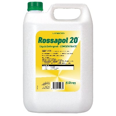 ROSSAPOL 20 DETERGENT CONCENTRATE 5L