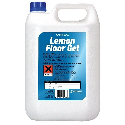 UNICO LEMON FLOOR GEL 5L X2
