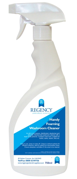 HANDY FOAMING WASHROOM CLEANER  X 6
