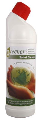 GREENER TOILET CLEANER
