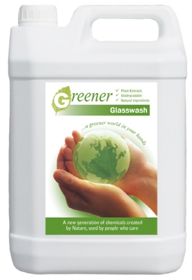GREENER MACHINE GLASSWASH