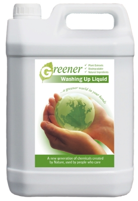 GREENER WASHING UP LIQUID