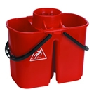 HEAVY DUTY DOUBLE MOP BUCKET X12