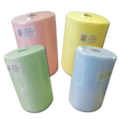 OPTIMA 'EXTRA' DISPOSABLE MICROFIBRE CLOTHS ON A ROLL