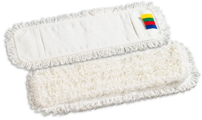 WHITE MICROFIBRE MOP HEAD