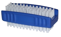 ECONOMY DOUBLE SIDED NAIL BRUSH