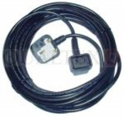 FLEX 12 METRE 1.0MM 2 CORE NUMATIC 2 PIN PLUG