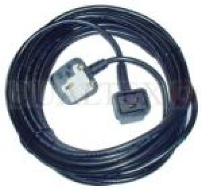 FLEX 12 METRE 1.0MM 3 CORE NUMATIC 3 PIN PLUG
