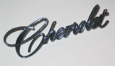 1969-70 'Chevrolet' trunk lid chrome script