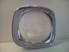 1969 Pontiac Firebird headlamp bezel RH outer