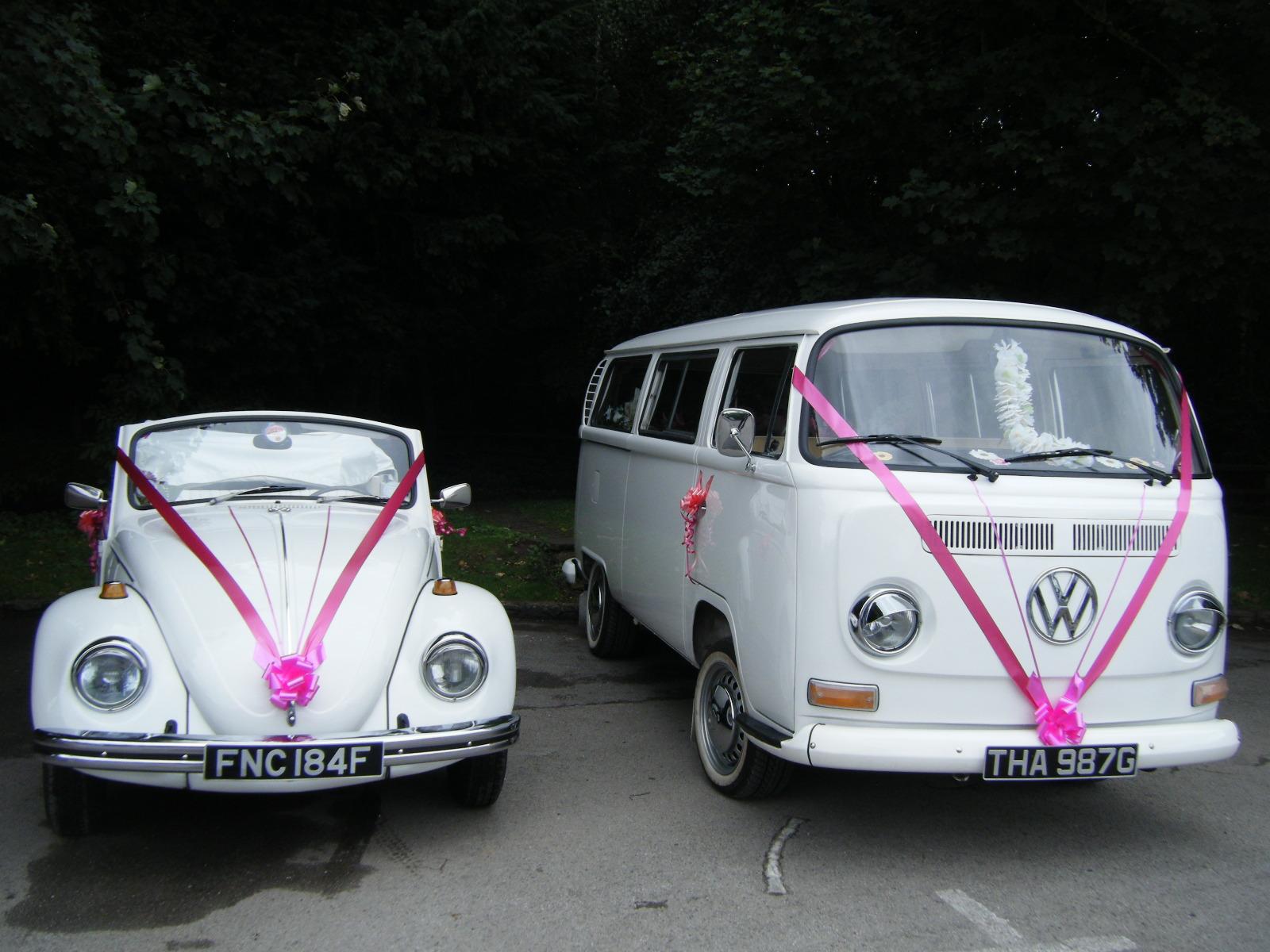 Vw Beetle/Campervans | North East Wedding Car Hire for Durham