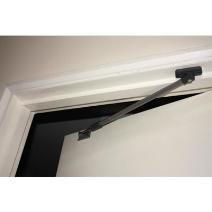 Door restrictor era 789 32 door restrictor with brass for Door opening restrictor