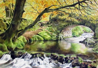Robber's Bridge - Exmoor