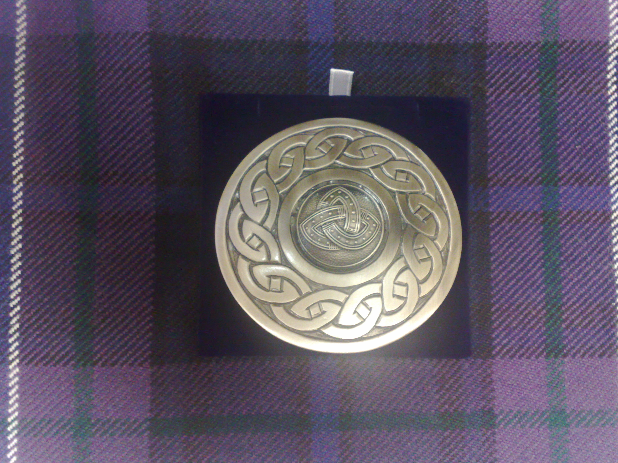 plain celtic brooch