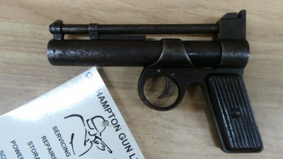 WEBLEY & SCOTT JUNIOR S/H 1.77