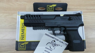 WEBLEY NEMESIS .22 OR 1.77 NEW