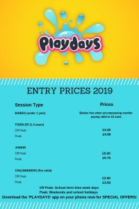 Entry Prices from January 2019