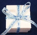 7mm Light Blue Ribbon Favour Box