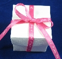 7mm Light Pink Favour Box Ribbon