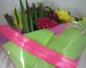 Hot Pink Message Bouquet Ribbon