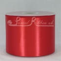 Red 100mm Satin Ribbon roll