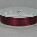 Burgundy 7mm Ribbon roll