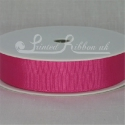 Fuchsia 7mm Satin Ribbon roll