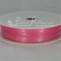 HOT PINK 7mm satin ribbon roll