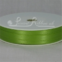 LIME GREEN 7mm satin ribbon roll