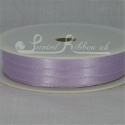 LILAC 7mm satin ribbon roll
