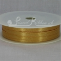 BRONZE 7mm satin ribbon roll