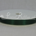 GREEN 10mm Double faced satin ribbon 20m roll