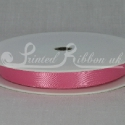 HOT PINK 10mm Double faced satin ribbon 20m roll
