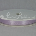 LILAC 10mm Double faced satin ribbon 20m roll